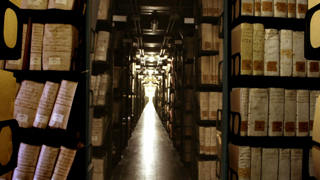 The-Secret-Archives-in-Vatican-City-Italy